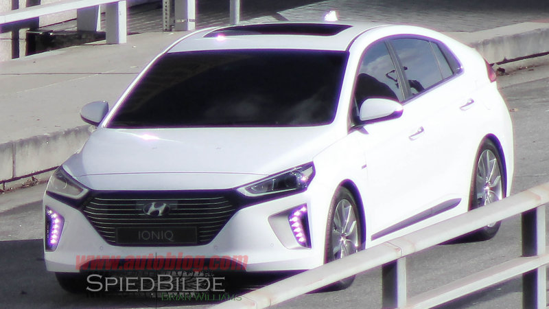 This is the Prius-fighting Hyundai Ioniq fully uncovered thumbnail