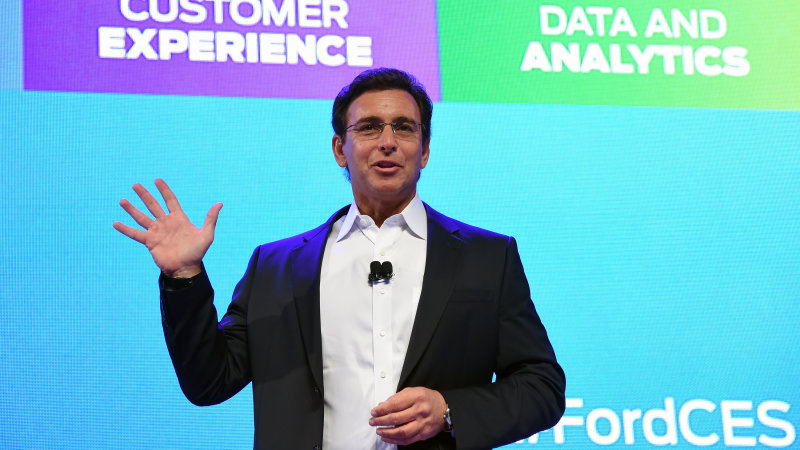 CEO Mark Fields says Ford will become a data company thumbnail