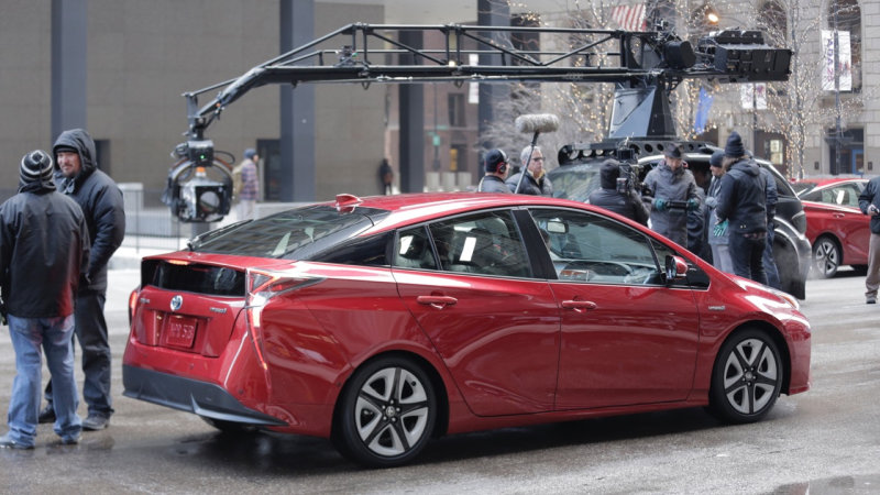 New Toyota Prius getting ready for Super Bowl ad thumbnail