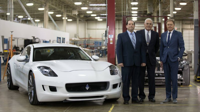 Fisker and Lutz hot-rod the Karma as V8-powered Destino [w/video] thumbnail