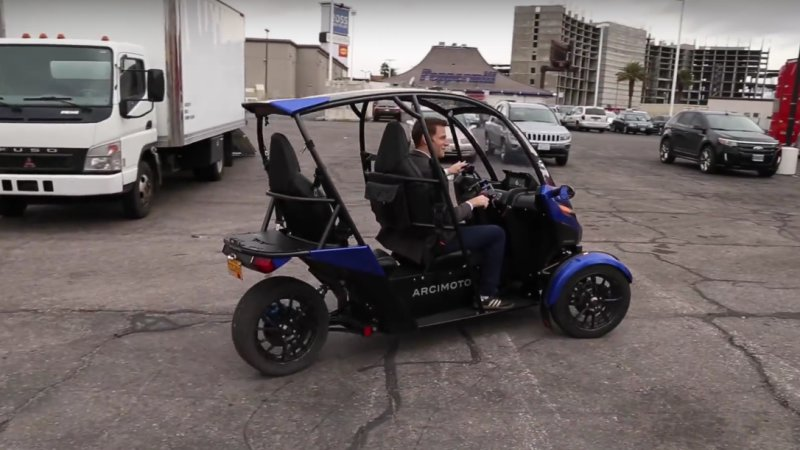 Recharge Wrap-up: Arcimoto SRK video, BAIC EV at CES thumbnail