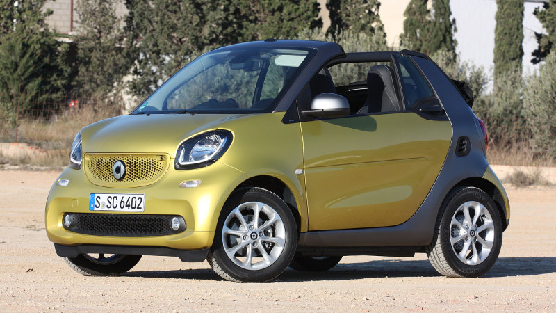 2017 Smart ForTwo Cabriolet First Drive [w/video] thumbnail