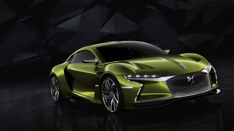 DS E-Tense concept imagines an electric GT with French style thumbnail