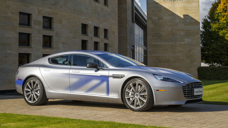 Aston Martin partners with Chinese company to make RapidE by 2018 thumbnail