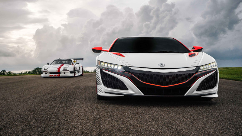 Honda sending two NSX racers and new EV concept to Pikes Peak thumbnail