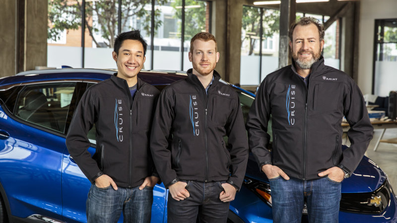 GM acquires driverless tech startup Cruise Automation thumbnail