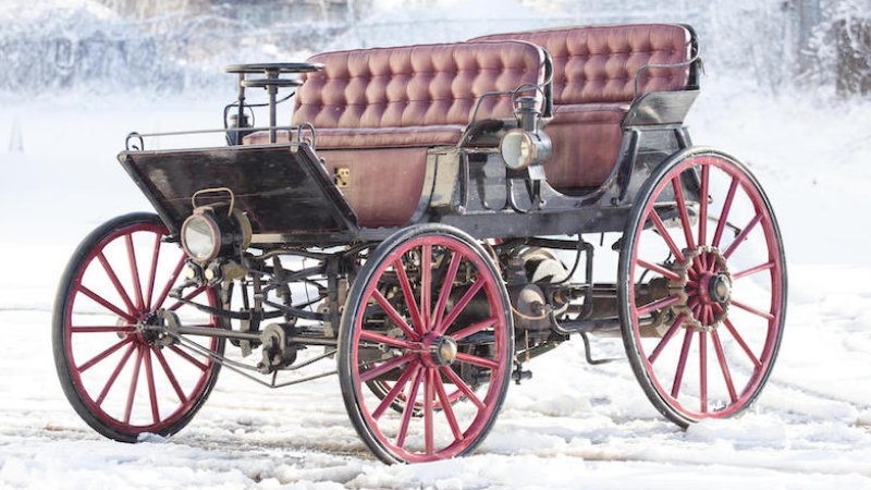 World's first hybrid, built in 1896, goes up for auction thumbnail