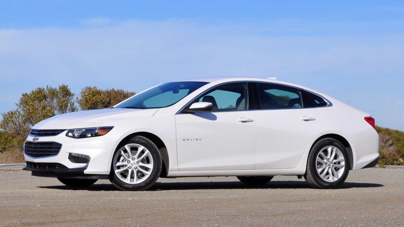 There's a bit of the Chevy Volt hidden in the Malibu Hybrid thumbnail