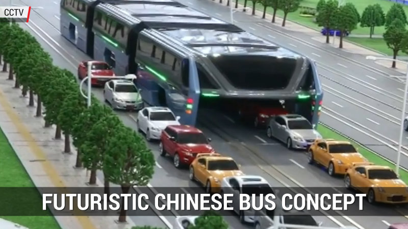 Futuristic Chinese Bus Concept | Autoblog Minute thumbnail