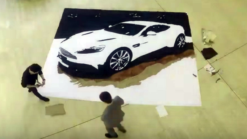 Aston Martin find unique way to recycle scraps of leather thumbnail