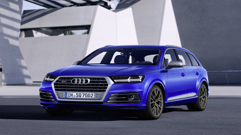 Audi SQ7 TDI would make a compelling option in the US thumbnail