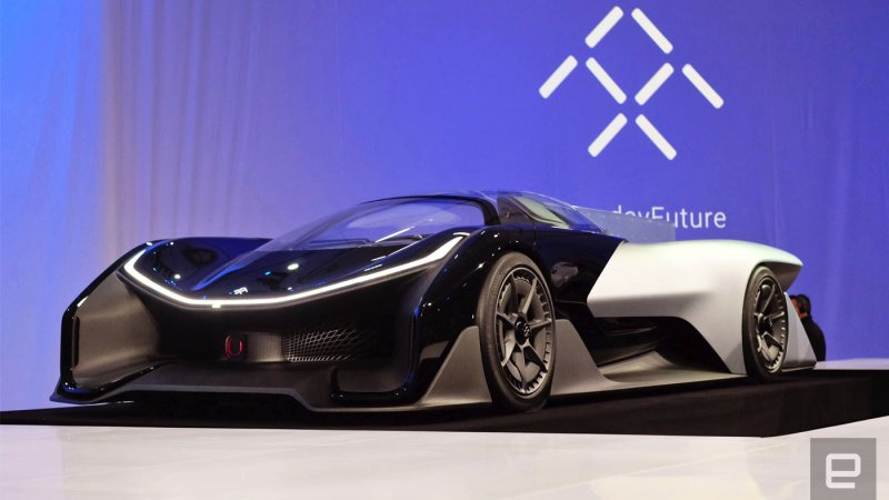 Faraday Future aims to test self-driving cars in Michigan thumbnail