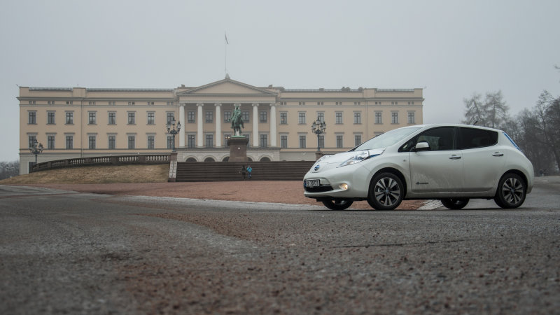 Nissan ready for 20% of its sales to be EVs in Europe by 2020 thumbnail