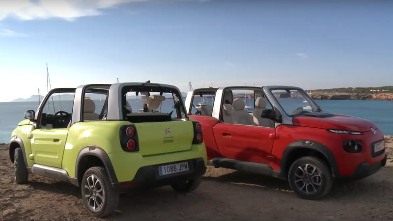 Spanish island wants to ban gas cars with Citroen's help thumbnail