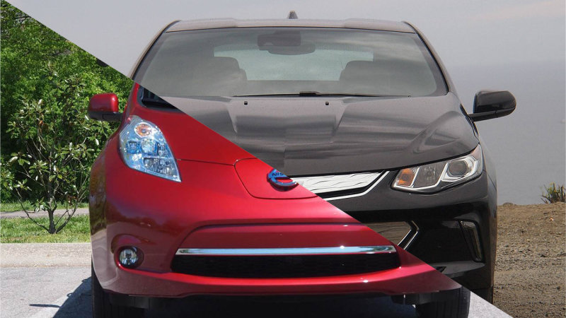 Chevy Volt keeps Nissan Leaf in rearview with strong May sales thumbnail