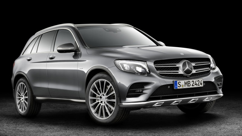 Mercedes-Benz GLC plug-in hydrogen fuel-cell coming in 2017 thumbnail