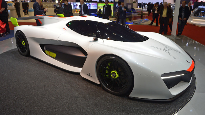 Pininfarina will sell you a bonkers H2 Speed Concept for $2.5m thumbnail