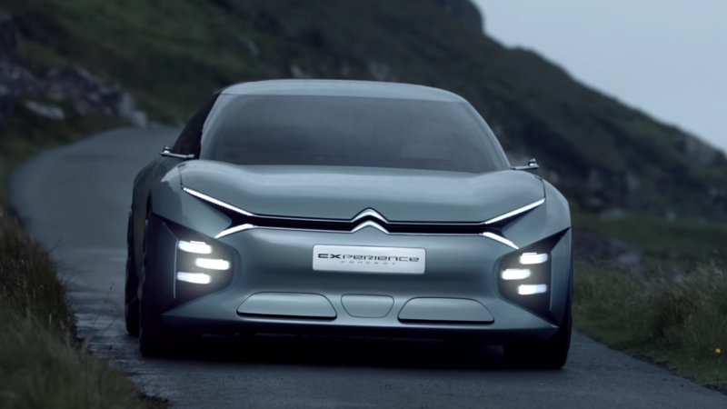 Citroen created a station wagon concept with sound bubbles thumbnail