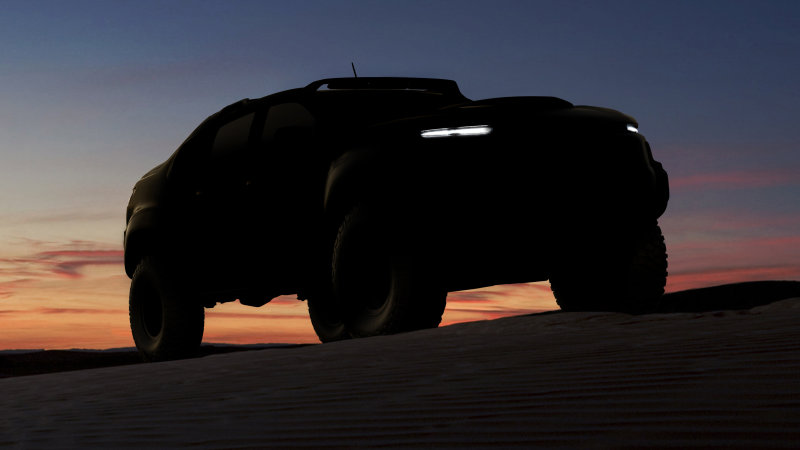 The Chevy Colorado has a military-spec, fuel cell-powered cousin thumbnail