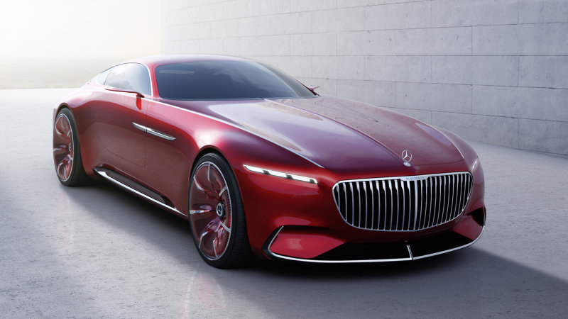 The Vision Mercedes-Maybach 6 is pure electric excess thumbnail
