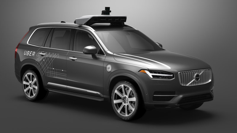 Uber will give away free rides in autonomous Volvos this month thumbnail