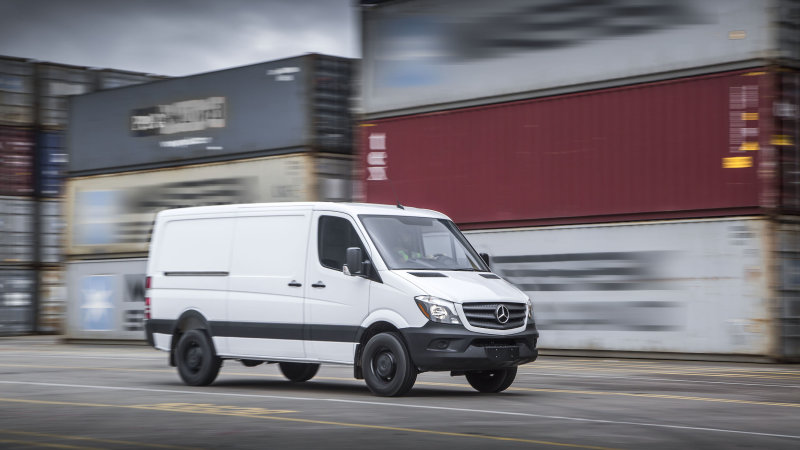 Mercedes-Benz could have electric Sprinter van by 2018 thumbnail