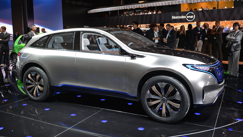 The Mercedes-Benz Generation EQ concept will spawn a full line of Tesla fighters thumbnail