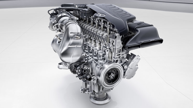 Mercedes unveils four new engines, two have inline-six layouts thumbnail
