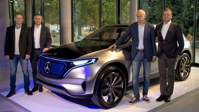 All-electric Mercedes-Benz EQ will go on sale by 2020 thumbnail