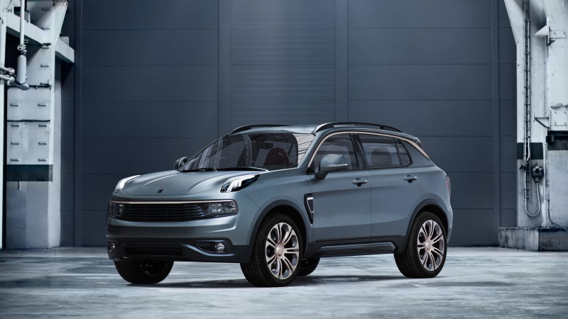 Geely's Lynk & Co. reveals Volvo-based, shareable SUV thumbnail