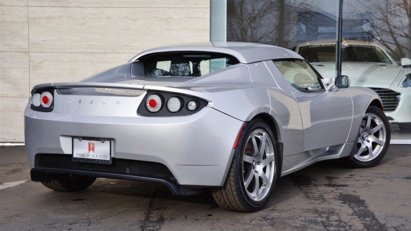 Would you pay $1M for this rare Tesla Roadster prototype? thumbnail