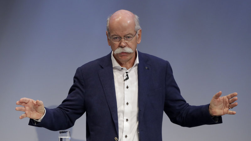 Daimler chairman agrees with German Greens on reducing emissions thumbnail