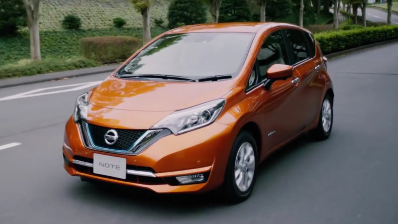 Nissan Note e-POWER is an EV that you can't plug in thumbnail