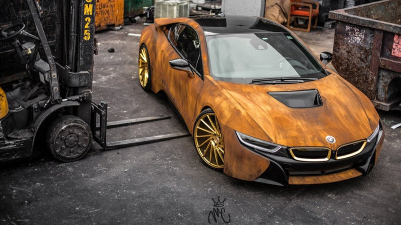 How to make a BMW i8 polarizing in two easy steps thumbnail