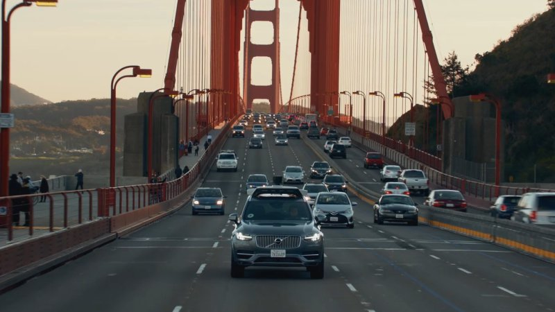 These Volvo XC90 SUVs could be your Uber AIs in San Francisco thumbnail