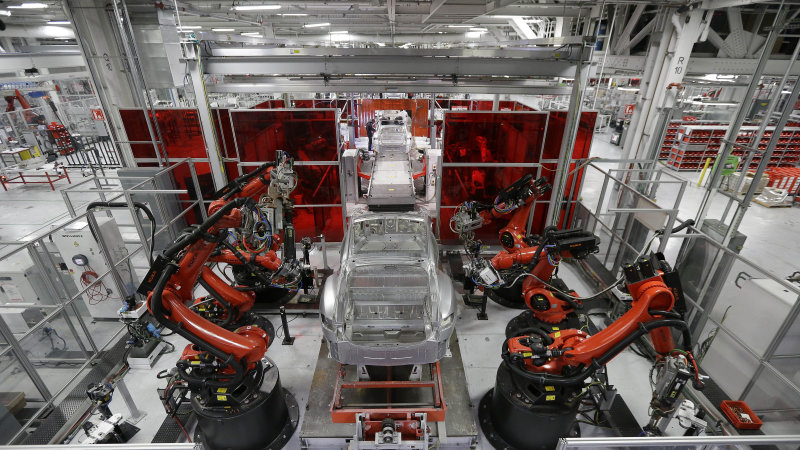 Tesla's Fremont factory workforce could be former NUMMI plant's highest ever thumbnail