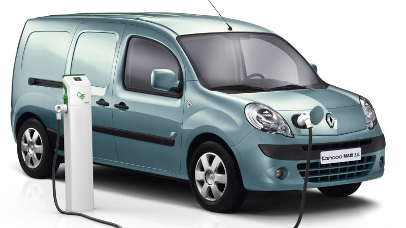 Renault Kangoo ZE will get a range boost to about 170 miles thumbnail
