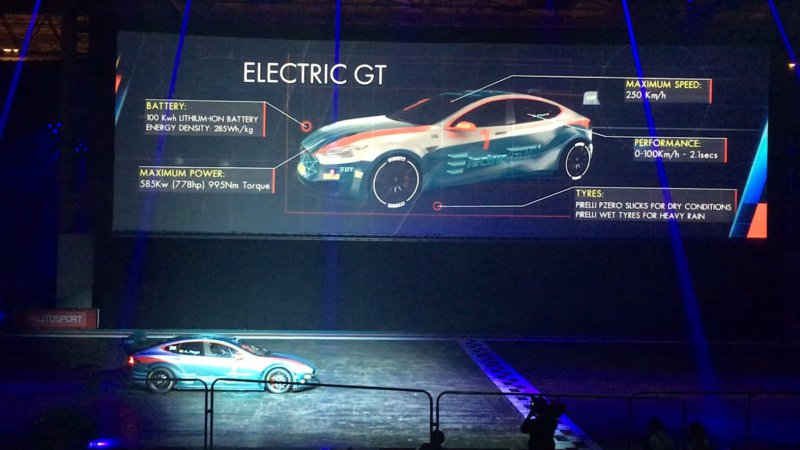 Electric GT's Tesla Model S racecar does 0-62 in 2.1 seconds thumbnail
