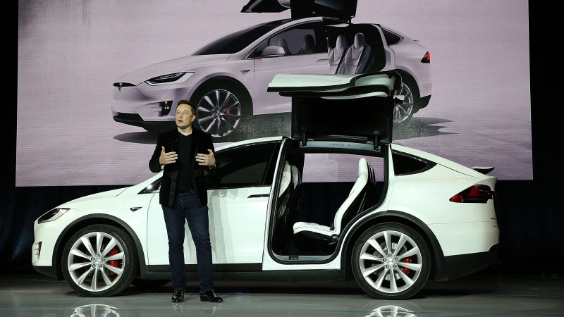 Tesla's Elon Musk promises roller coasters, fro yo at factory thumbnail