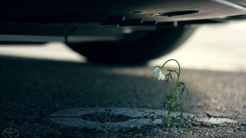 The Mirai has flower power in Toyota's Super Bowl ad thumbnail