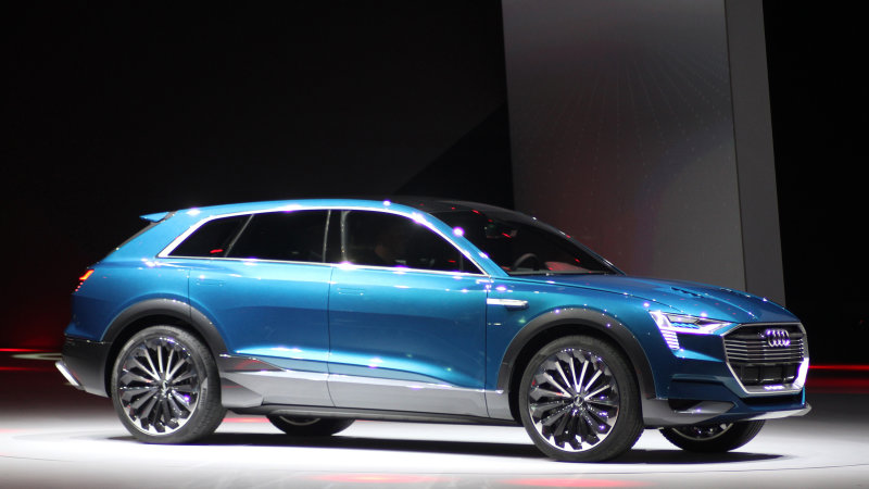 Will Audi's e-tron SUV's range match the Tesla Model X? thumbnail