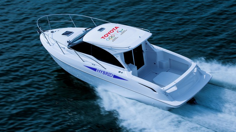Toyota's latest hybrid is a boat thumbnail
