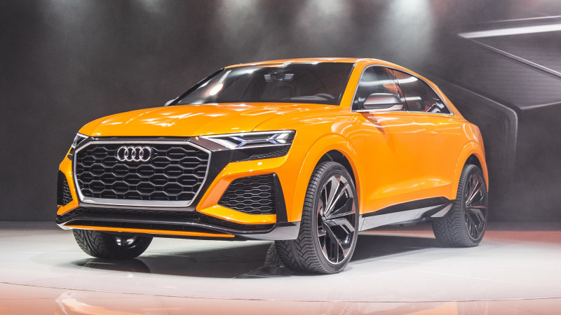 Audi's Q8 Sport concept packs an electric supercharger thumbnail