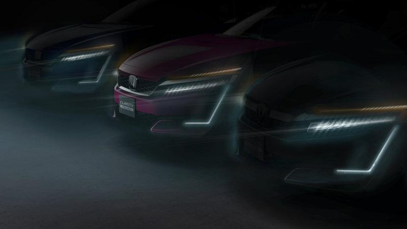 Honda Clarity Electric and Plug-In Hybrid to debut in NY thumbnail