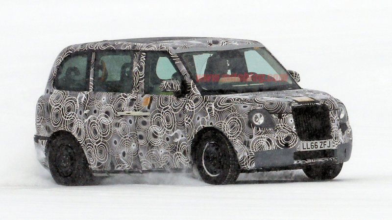 Latest London taxi is spied well outside of England thumbnail