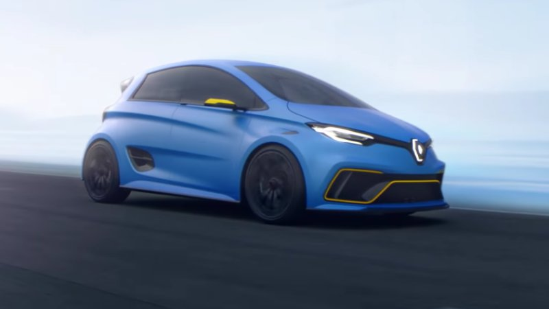 Renault Zoe e-Sport Concept is a hot hatch for the EV crowd thumbnail