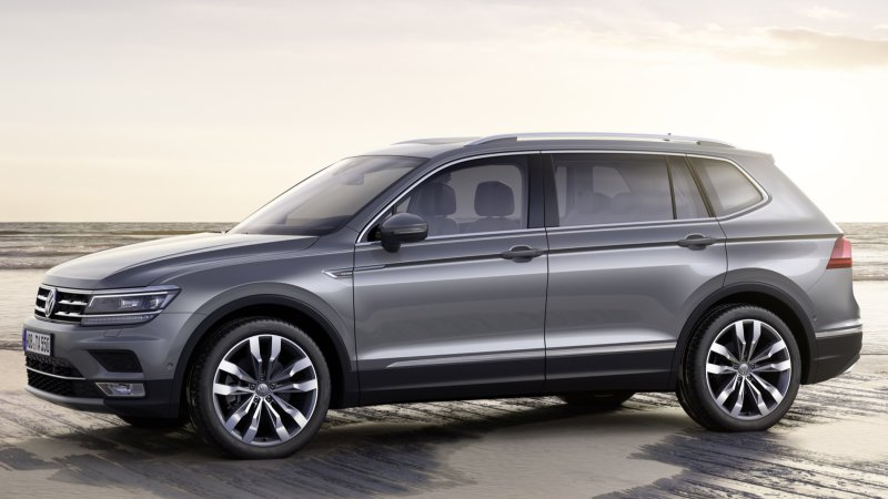 Volkswagen Tiguan Allspace makes Euro debut with TDI engine options thumbnail