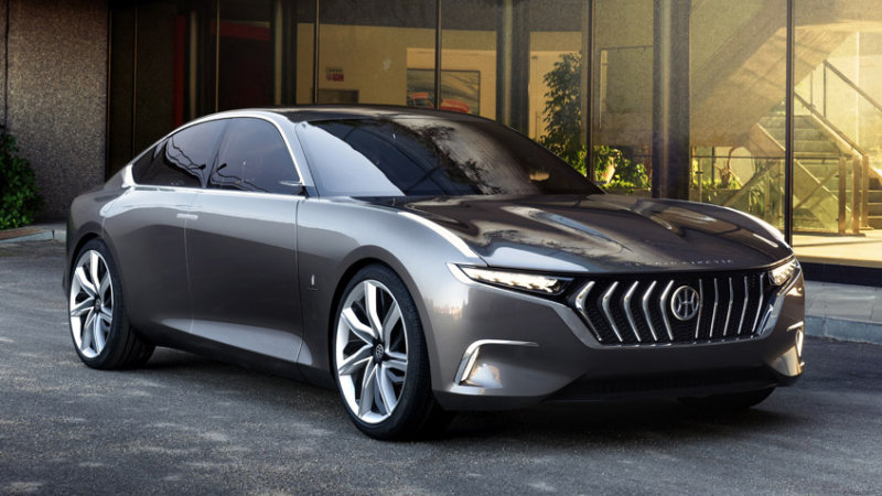 The Pininfarina H600 is a classy hybrid sedan thumbnail