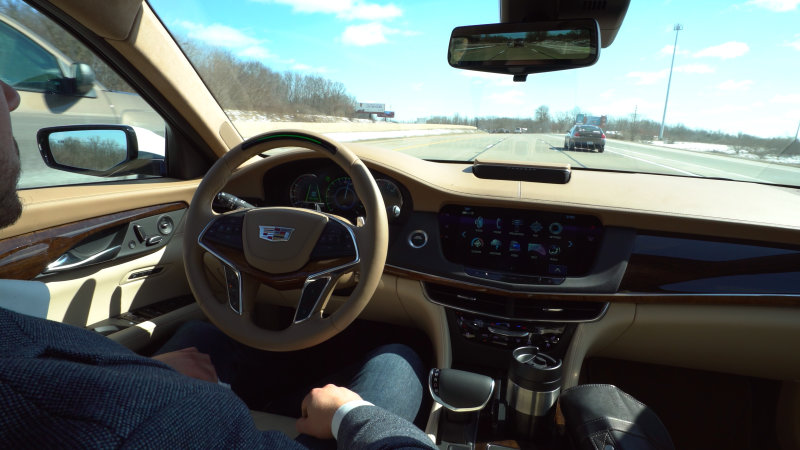 Super Cruise will make 2018 Cadillac CT6 semi-autonomous thumbnail