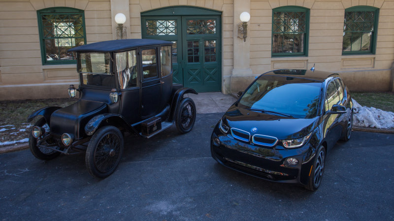 The irony of the EV chargers at the Thomas Edison Museum thumbnail